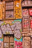 malująca ściana Fotografia Royalty Free
