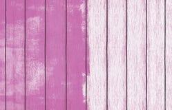 Malująca drewniana tło tapeta z menchii farbą ilustracji
