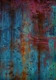 Malująca kruszcowa tekstura obraz stock