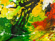 malująca tło abstrakcjonistyczna ręka Obraz Stock