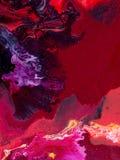 malująca tło abstrakcjonistyczna ręka Zdjęcia Royalty Free