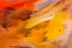 malujący abstrakcjonistyczny akrylowy tło abstrakcjonistycznej sztuki tła malująca tło ręka JAŹŃ ROBIĆ Zdjęcie Stock