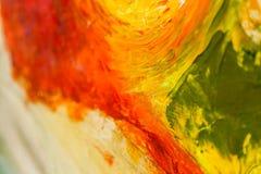 malujący abstrakcjonistyczny akrylowy tło Use dla sprzedaży, commercy, reklama, sztuki praca, ilustracja Fotografia Stock