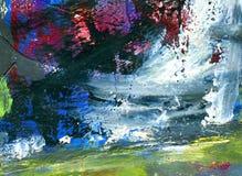 malujący abstrakcjonistyczny tło Zdjęcia Stock