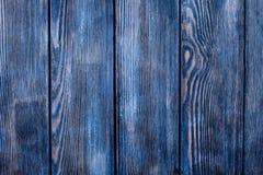 Malujący błękitny drewno zdjęcia royalty free
