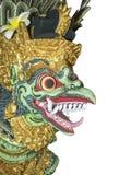 Malujący Bali smok, Odizolowywający obrazy royalty free