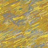 Malujący bezszwowy wzór w kruszcowym złocie ilustracji