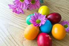 malujący Easter jajka Zdjęcie Stock