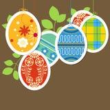 malujący Easter jajka Zdjęcie Royalty Free