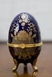 malujący Easter pudełkowaty jajko Fotografia Royalty Free