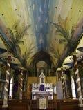 Malujący kościół Obrazy Stock