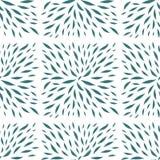 Malujący liście w kwadratowego kształta bezszwowym wektorze royalty ilustracja