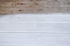 malujący nawierzchniowy drewniany Biały kolor Zdjęcia Royalty Free