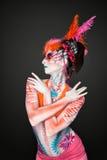 Malująca dama BB144281 Zdjęcie Stock