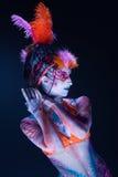 Malująca dama BB144345 Fotografia Royalty Free
