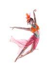 Malująca dama BB144542 Fotografia Royalty Free