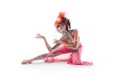 Malująca dama BB144565 Zdjęcie Royalty Free