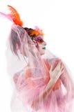 Malująca dama BB144623 Fotografia Stock