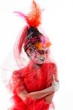 Malująca dama BB144743 Fotografia Stock