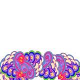 Malująca geometryczna granica abstrakt Zdjęcie Stock