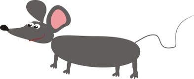 Malująca mysz (wektorowy wizerunek) Zdjęcia Stock