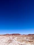 Malująca pustynia zdjęcie stock