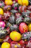 malującego Easter 2 jajka Zdjęcie Royalty Free