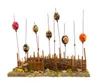 malujący Easter dekoracyjni jajka Zdjęcie Stock