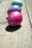 malujący Easter jajka Zdjęcia Royalty Free