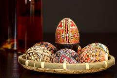 malujący Easter jajka Obrazy Royalty Free