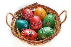 Malujący Easter jajka Obraz Stock