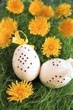 malujący Easter jajka Obrazy Stock