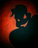Malujący straszny duch Halloween Obrazy Royalty Free