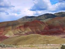 Malujący wzgórza Zdjęcia Stock