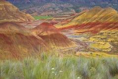 Malujący wzgórza Zdjęcia Royalty Free