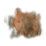 Maluje czarnego czerwonego pluśnięcie koloru atramentu akwareli uderzenia splatter watercolour aquarel muśnięcie Fotografia Stock