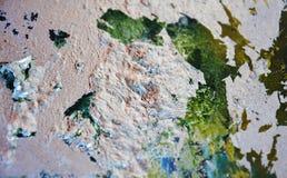 Maluje kopalnego purpurowego tło, abstrakcjonistyczna kolorowa tekstura Fotografia Stock