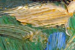 Maluje szczegóły Zdjęcie Royalty Free