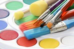 maluje watercolour Zdjęcia Royalty Free