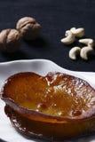 Malupua - dikke zoete pannekoeken van India Stock Foto's