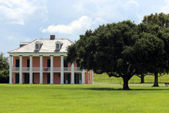 Malus-Beauregard House at Chalmette Battlefield. This is the Malus-Beauregard House at Chalmette Battlefield, downriver from New Orleans, Louisiana. The Stock Photos