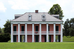 Malus-Beauregard House at Chalmette Battlefield. This is the Malus-Beauregard House at Chalmette Battlefield, downriver from New Orleans, Louisiana. The Royalty Free Stock Photos