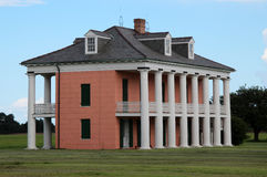 Malus-Beauregard House at Chalmette Battlefield. This is the Malus-Beauregard House at Chalmette Battlefield, downriver from New Orleans, Louisiana. The Royalty Free Stock Photography