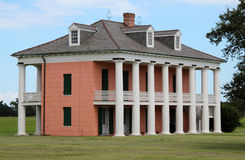 Malus-Beauregard House at Chalmette Battlefield. This is the Malus-Beauregard House at Chalmette Battlefield, downriver from New Orleans, Louisiana. The Royalty Free Stock Images