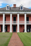 Malus-Beauregard House at Chalmette Battlefield, view from the levee side Royalty Free Stock Image