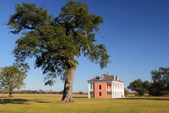Malus-Beauregard House. Historic Plantation Home, Chalmette Battlefield Royalty Free Stock Photography