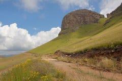Maluti góry droga fotografia stock