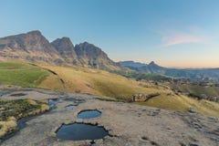 Maluti Mountain Peaks Stock Images