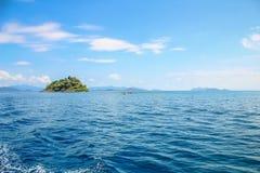 Malutka wyspa Zdjęcia Stock