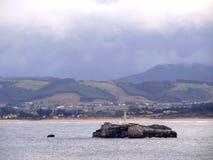 Malutka wyspa Cantabric Obraz Stock